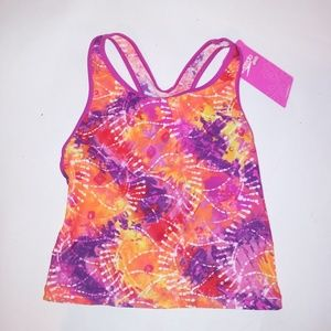 Speedo Girls Swim Tankini Top